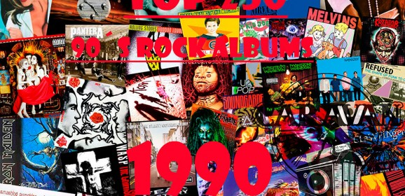 TOP 250 90´s ROCK ALBUMS