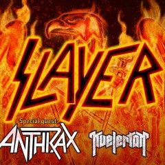 SLAYER+ANTHRAX+KVELERTAK