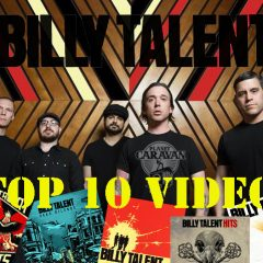 TOP 10 VIDEOS DE BILLY TALENT