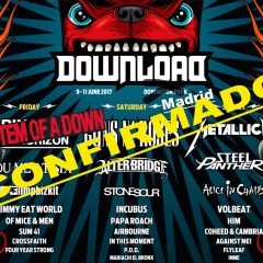 CONFIRMADO DOWNLOAD FESTIVAL EN ESPAÑA EN 2017.