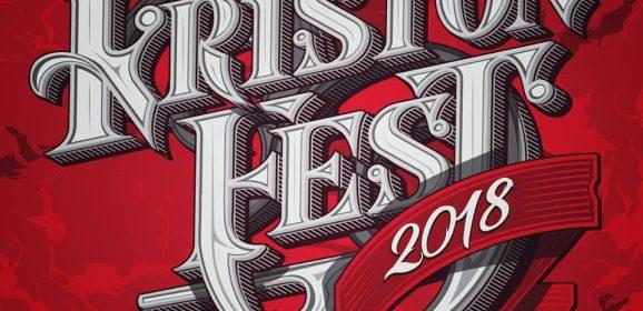 KRISTONFEST 2018.- PRIMERAS CONFIRMACIONES