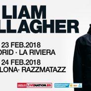 LIAM GALLAGHER SE VA ACERCANDO A ESPAÑA