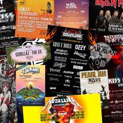 CALENDARIO DE FESTIVALES Y CONCIERTOS PARA EL 2018