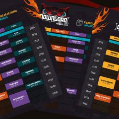 DOWNLOAD FESTIVAL.- HORARIOS