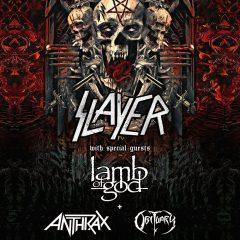 ATENCION: ENTRADAS A LA VENTA SLAYER FINAL WORLD TOUR