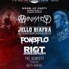 WARM- UP PARTY RESURRECTION FEST 2018