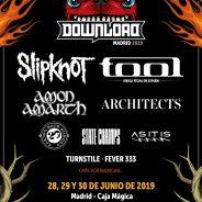 DOWNLOAD FESTIVAL MADRID 2019. NUEVAS CONFIRMACIONES